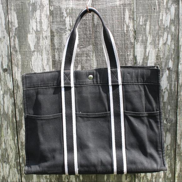 6ff7a6d3d Hermes Handbags - Authentic HERMES Canvas MM Fourre Tote Bag Canvas